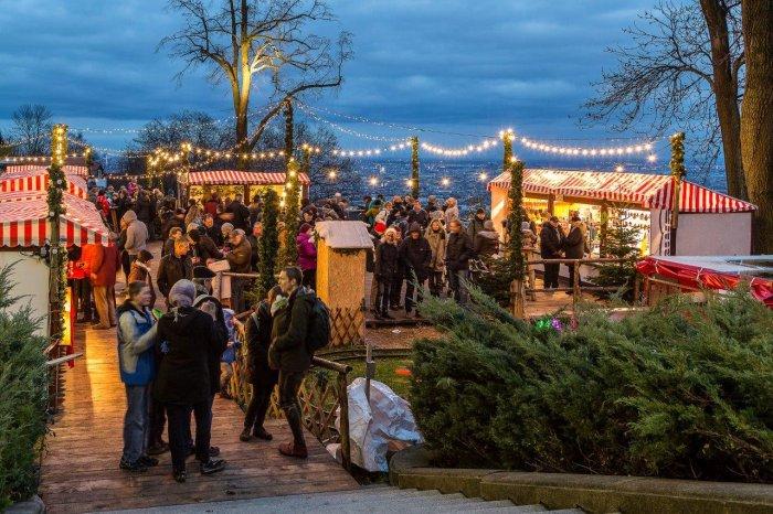 Weihnachtsmarkt amWilhelminenberg Wien